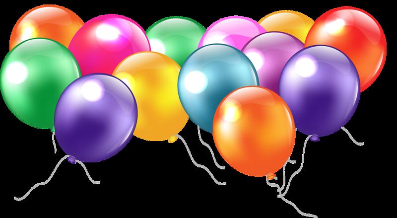 Воздушный шарик для открытки 710
